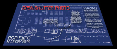 Ottawa Comiccon – Open Shutter Photo