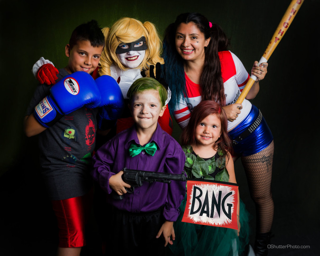 Awesome family cosplay